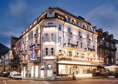 europa Hotel Außen Weihnachten 2017 - web